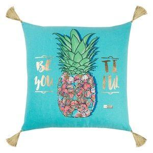 "SS ""Be-You-Tiful"" Pineapple Throw Pillow"